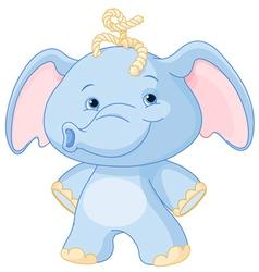 Baby elephant vector