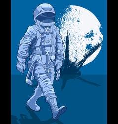 Cosmonaut vector image vector image