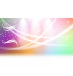 Digital abstract empty light rainbow vector image vector image