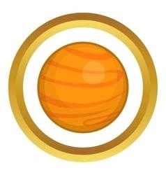 Mars icon vector