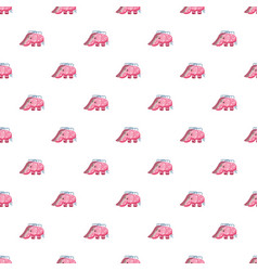 Childrens slide elephant pattern vector
