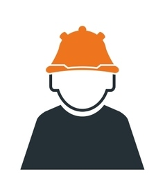 industrial worker icon vector image