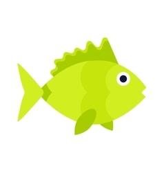Aquatic fish wildlife aquarium underwater nature vector