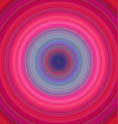Colorful concentric circle background vector image