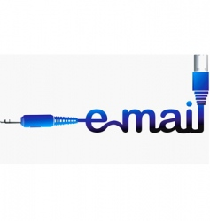 email logo vector image