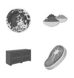 Food business ecology and other monochrome icon vector
