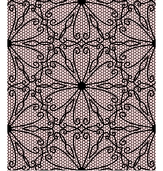 Flower oriental lace vector