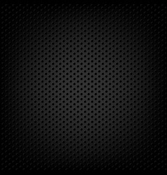 carbon metallic background vector image