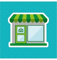 store icon design vector image