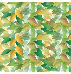 random leaves vector image vector image