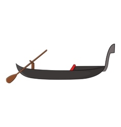 Gondola icon cartoon style vector
