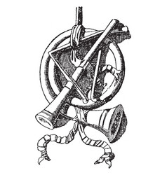Horn symbol is a horn which symbolizes the art of vector