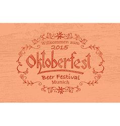 Oktoberfest logotype vector
