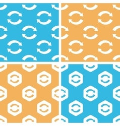 Refresh pattern set colored vector