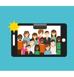 Camera app vector