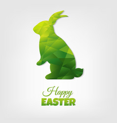 Easter postcard vector