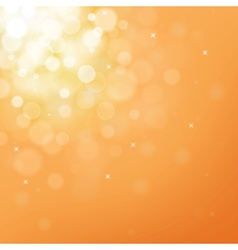 Gold bokeh background for christmas and greeting vector