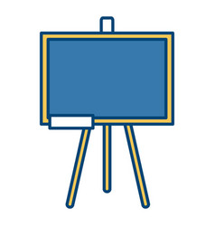 school blackboard isolated vector image
