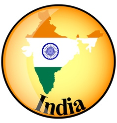 Button india vector