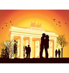 Brandenburg vector image