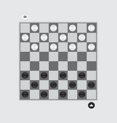 checkerboard vector image vector image