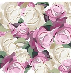 Roses Vintage background vector image vector image