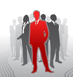 Leadership vector image