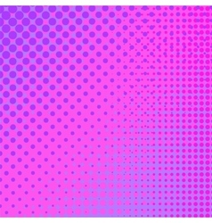 Pink halftone pattern vector