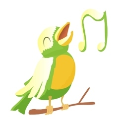 Bird icon cartoon style vector image