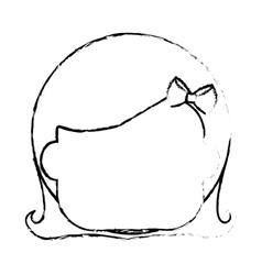 cartoon kid icon vector image