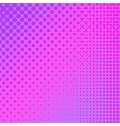 Pink halftone pattern vector