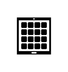 Tablet computer technology vector