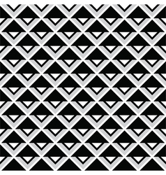 Tribal aztec abstract squares seamless pattern vector
