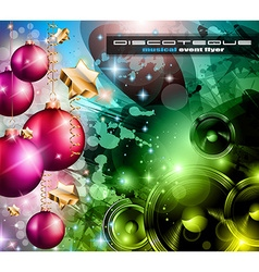 2014 Happy new year Party background vector image vector image