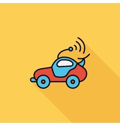 Car toy vector