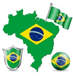Brazilian Symbol vector image vector image