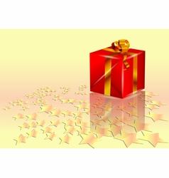 christmas present vector image