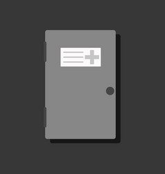 flat icon design collection doctors door in vector image vector image
