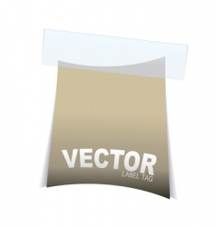 label tag icon vector image vector image