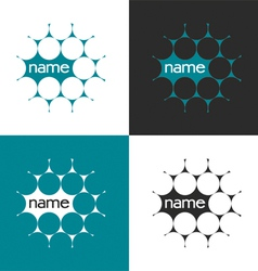 Science logo vector