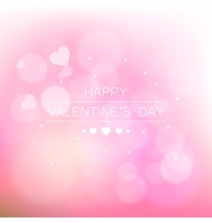 Valentine s day abstract background vector image vector image