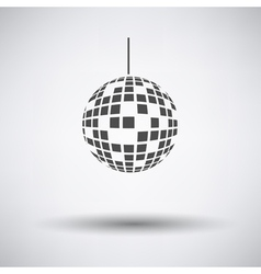 Party disco sphere icon vector