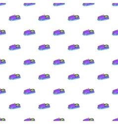 Children bumper machine pattern cartoon style vector