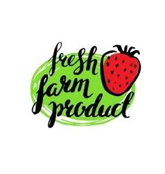 Set of vintage retro farm logo vector image vector image