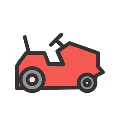Farm vehicles vector