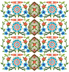 Ottoman motifs design series fifty eight vector