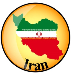 Button iran vector