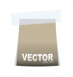 Label tag icon vector