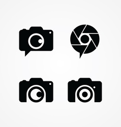 Photography symbol theme vector