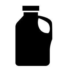 Household chemicals the black color icon vector